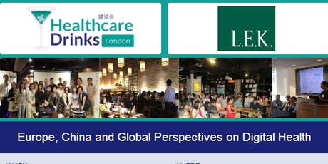 Europe, China and Global Perspectives on Digital Health tickets