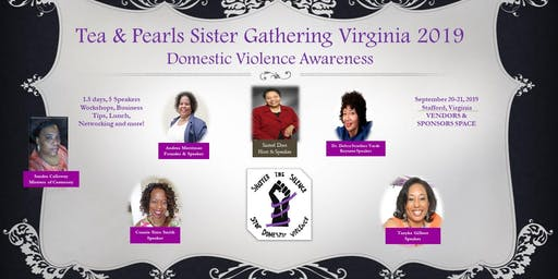 Tea & Pearls Sister Gathering Virginia 2019