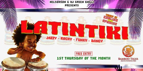 LatinTiki at Bamboo Tiger [1st Thu of the month] tickets