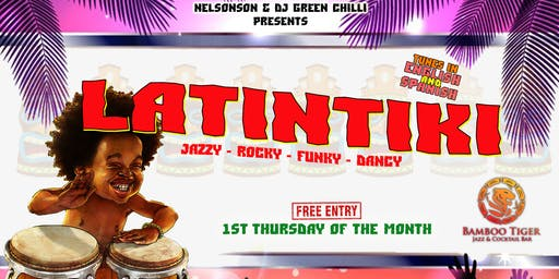 LatinTiki at Bamboo Tiger [1st Thu of the month]
