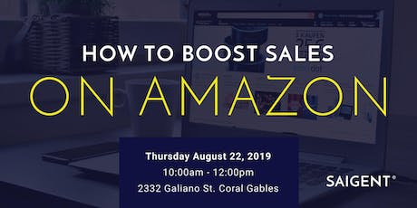 How To Boost Sales on Amazon tickets