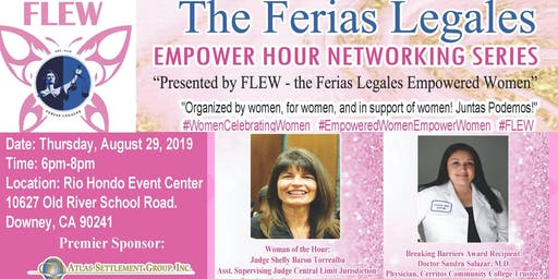 FLEW Networkign Series, Empower Hour: Women Celebrating Women