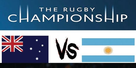 The Rugby Championship 2019: Australia V Argentina tickets