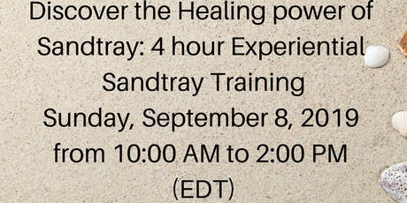 Discover the healing power of Sandtray: 4 hour Experiential Sandtray Training tickets