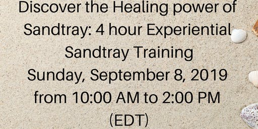 Discover the healing power of Sandtray: 4 hour Experiential Sandtray Training
