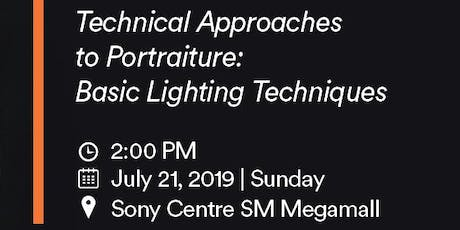 Technical Approaches to Portraiture: Basic Lighting Techniques tickets