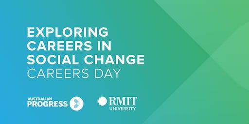 Exploring Careers in Social Change