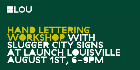 Hand Lettering Workshop - Intro to Sign painting tickets