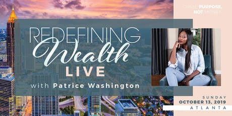 Redefining Wealth LIVE - The Experience tickets