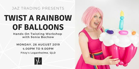 Twist A Rainbow of Balloons Workshop tickets