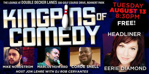 Kingpins of Comedy • August 13