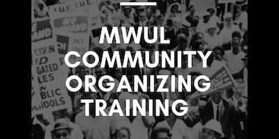 MWUL Community Organizing Training 2019