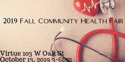 SOW365/Women of Intent 2019 Fall Community Health Fair