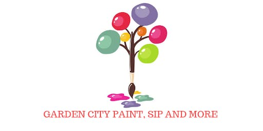 GARDEN CITY PAINT, SIP AND MORE BACK TO SCHOOL ART PARTY