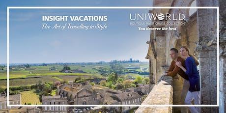 Gold Coast | Evening Showcase  | Uniworld River Cruises & Insight Vacations tickets