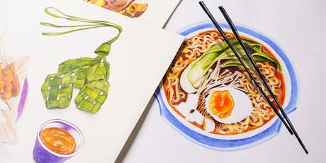Food Drawing with Colour Pencils (4 Session Evening) tickets