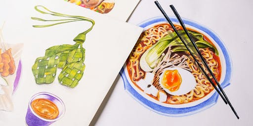 Food Drawing with Colour Pencils (4 Session Evening)