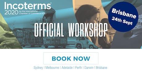 Official ICC Incoterms® 2020 Australian Workshops – BRISBANE tickets