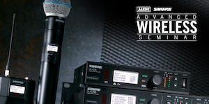 Shure Advanced Wireless Seminar (Brisbane)