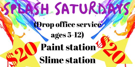 Splash Saturdays at the Spa