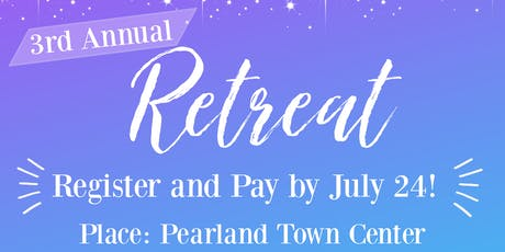 G.L.O.W. (ING)'s 3rd Annual Retreat  tickets