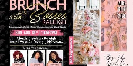 BRUNCH with BOSSES - Raleigh! tickets