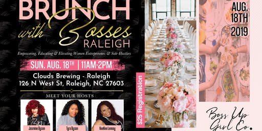 BRUNCH with BOSSES - Raleigh!