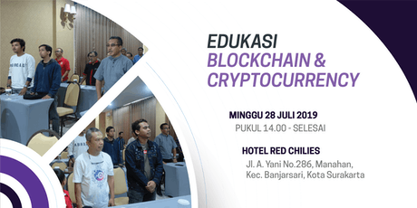 EDUKASI BLOCKCHAIN & CRYPTOCURRENCY tickets