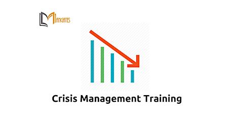 Crisis Management 1 Day Virtual Live Training in Copenhagen tickets