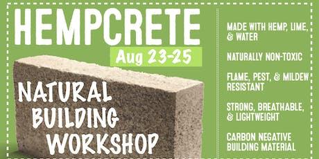 Hempcrete Workshop tickets