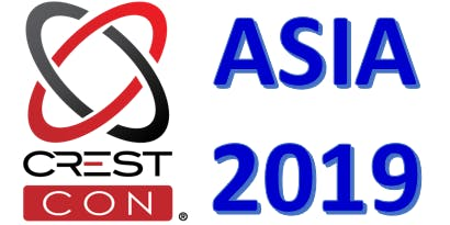 CRESTCon Asia 2019 on 20 Sep 19