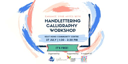 WUYI Workshop: Handlettering Workshop by SmartGuppy