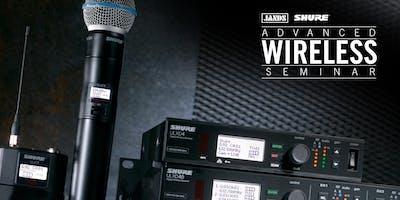 Shure Advanced Wireless Seminar (Adelaide)