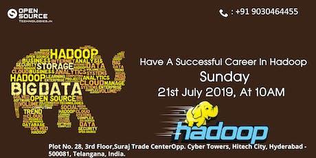 Free Hadoop Training demo On 21st July @ 10 am tickets