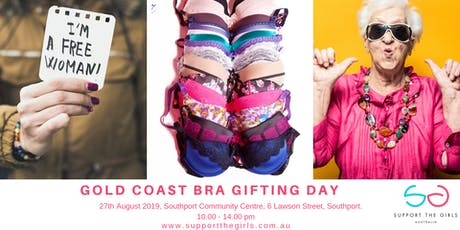 Support The Girls Bra Gifting Day Southport Community Centre tickets