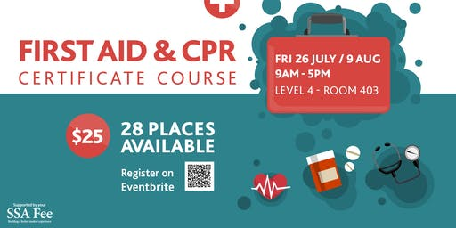 First Aid and CPR Certificate Course