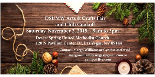 DSUMW Arts & Crafts Fair and Chili Cookoff