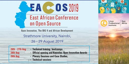 East African Conference on Open Source Tickets, Mon, Aug 26, 2019 at