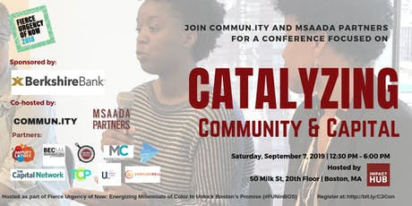 Catalyzing Community & Capital (C3) Conference tickets