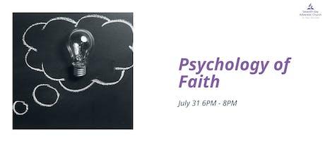Psychology of Faith tickets