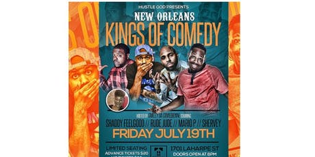 New Orleans Kings of Comedy VIP tickets