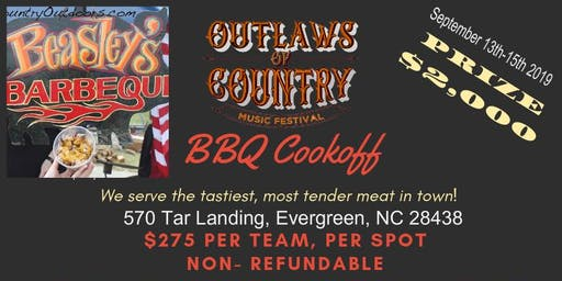 Outlaws of BBQ COOK-OFF