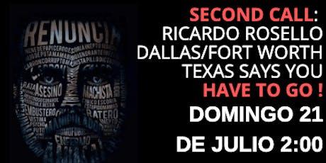 2da Protesta en apoyo a Puerto Rico: DFW - Texas tickets