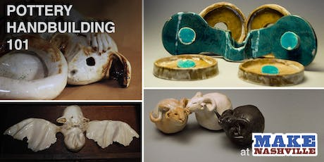 Pottery Handbuilding 101 (TWO-DAY SESSION) tickets