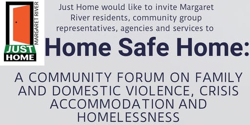 Just Home Margaret River Domestic Violence Crisis Housing Forum