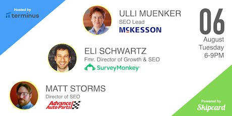 SEO as a growth channel (w/ McKesson, SurveyMonkey & Advance Auto Parts) tickets
