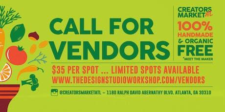 Creators Market - Call for Vendors tickets