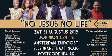 "4 in 1 worship Night ""No Jesus No Life"" tickets"