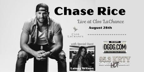 KRTY AND DGDG.COM Present a Special Acoustic Night with Chase Rice tickets