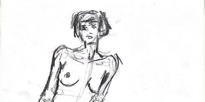 Life Drawing with a Glass of Wine - Sydney Craft Week 2019
